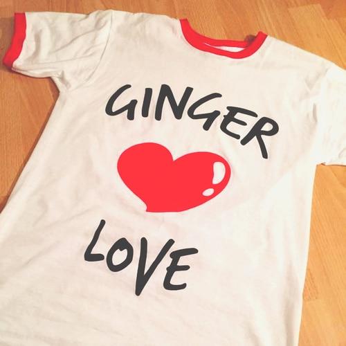 Ginger Love tee