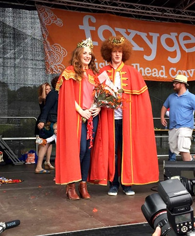 King and Queen Redheads 2015