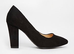 Black-block-heel