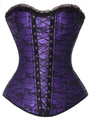 Purple-corset