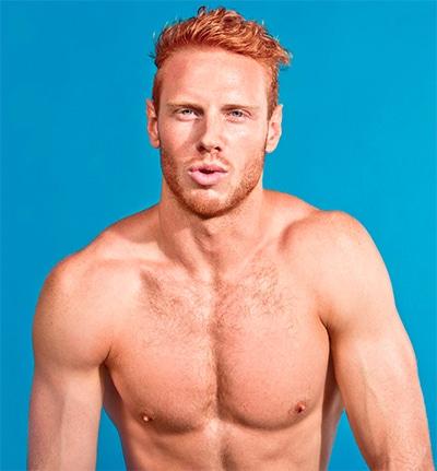 Lads Hot redhead