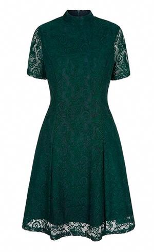 Green dress Yumi