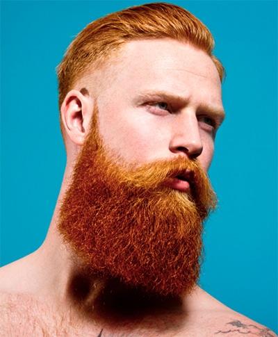 Gwilym Pugh ginger beard