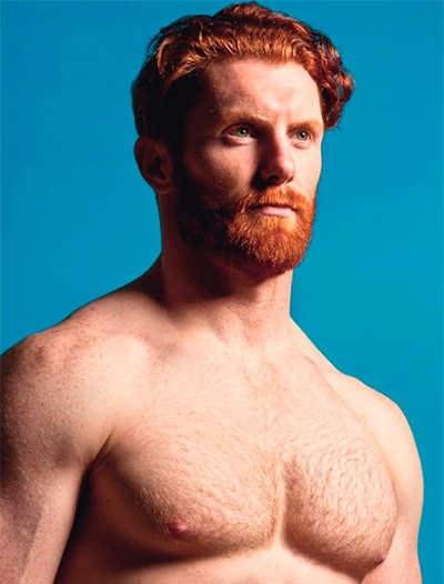 Reid Worthington ginger beard