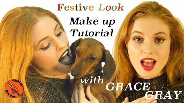 Grace Gray Festive make up