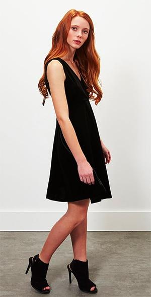 Miss Selfridge velvet dress