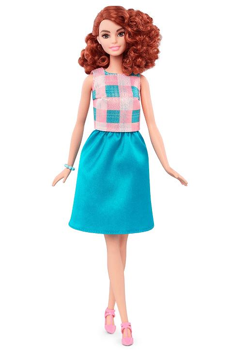 Redhead Barbie ginger