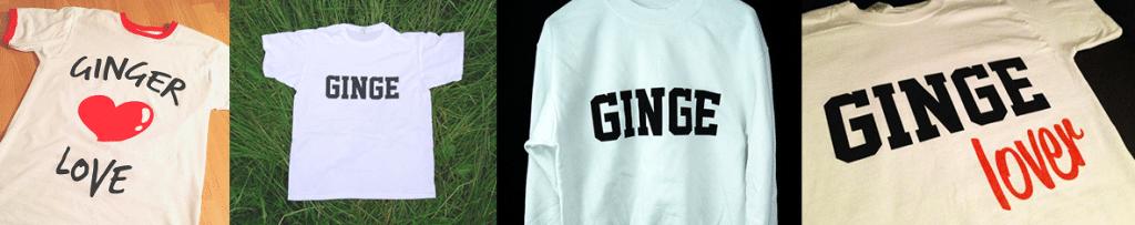 Ginge ginger clothing