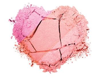 Pink blusher