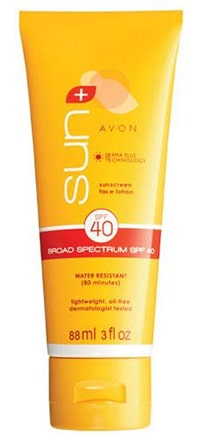 Avon sun sunscreen for redheads