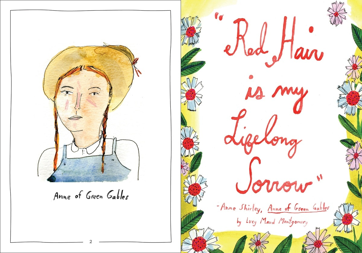 Field Guide to Redheads Anne of Green Gables