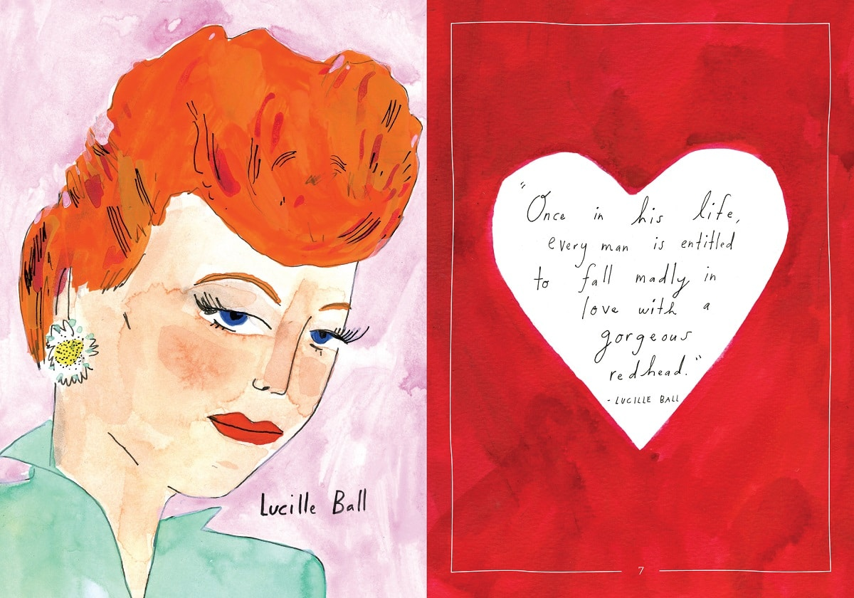 Field Guide to Redheads Lucille Ball