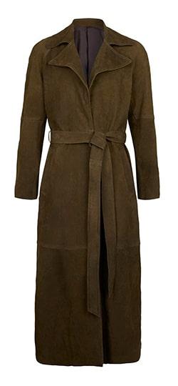 Poldark trench coat