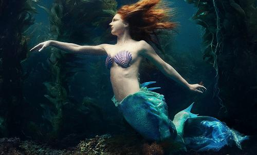 Virginia Hankins mermaid