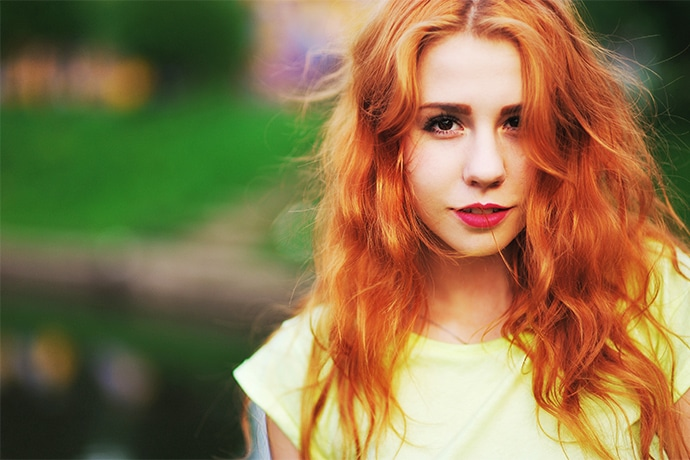 Natural Looking Bright Red Hair Dye