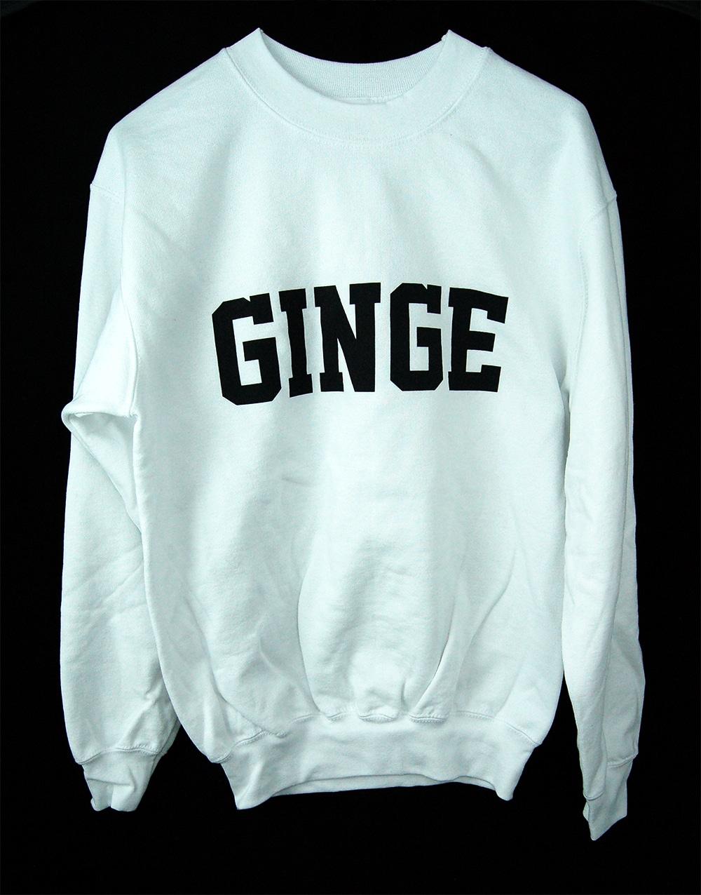 GINGE sweatshire