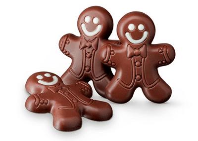 Hotel Chocolat gingerbread men