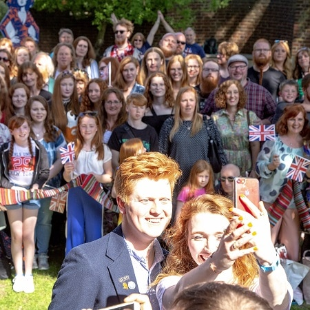 Calendar of Redhead Events 2019 | Ginger Parrot