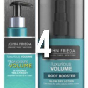 Win John Frieda Luxurious Volume products