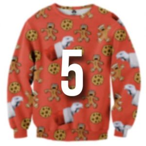 Christmas jumpers for redheads