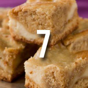 Ginger blondie recipe