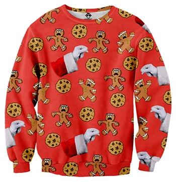 Etsy Gingerbread Christmas jumper