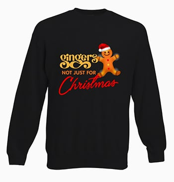 Gingers not just for Christmas jumper