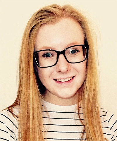 Katie Prosser Ginger of the Month