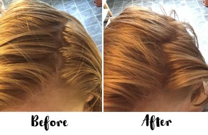Natural Hair Dye Shampoo