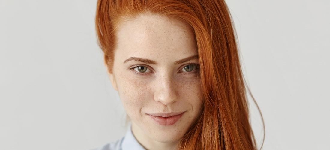 Big beautiful redhead