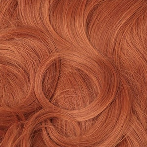 Natural-looking hair extensions for redheads