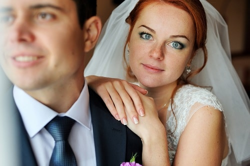 Výsledek obrázku pro redhead bride