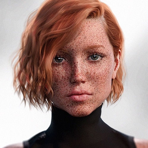 Interview With Redhead Ai Model Java Ginger Parrot